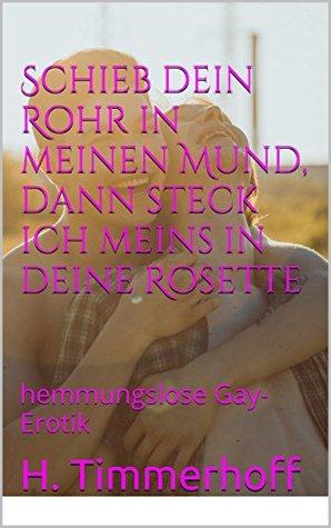 Schieb dein Rohr in meinen Mund, dann steck ich meins in deine Rosette: hemmungslose Gay-Erotik  by  H. Timmerhoff