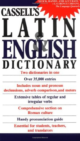 Cassells Latin Dictionary: Latin English, English Latin D.P. Simpson
