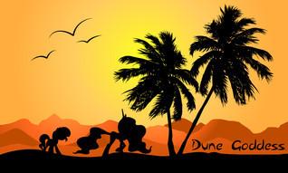 Dune Goddess  by  Prane