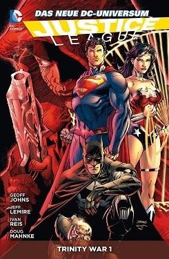 Justice League: Trinity War 1  by  Geoff Johns