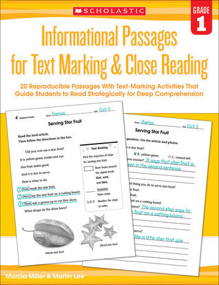 20 Reproducible Passages With Text-Marking Activities That Guide Students to Read Strategically for Deep Comprehension Martin Lee