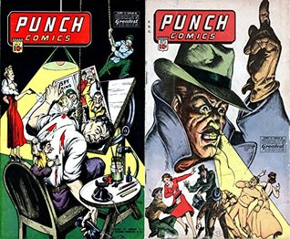 Punch Comics. Issues 9 and 10. Worlds greatest comics. Golden Age Digital Comics Paranormal.  by  Golden Age Mystery and Supernatural Comics