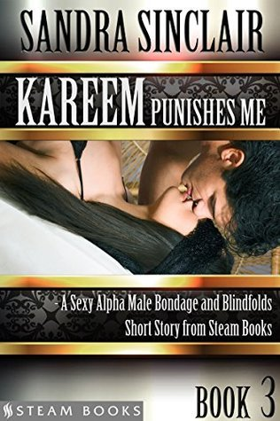 Kareem Punishes Me - A Sexy Alpha Male Bondage and Blindfolds Short Story from Steam Books  by  Sandra Sinclair