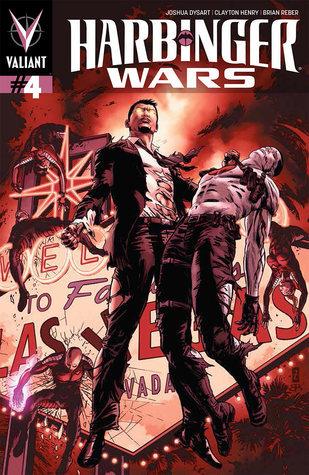 Harbinger Wars #4  by  Joshua Dysart