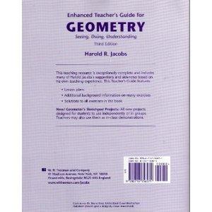 Enhanced Teacher Guide for Geometry: Seeing, Doing, Understanding  by  Harold R. Jacobs