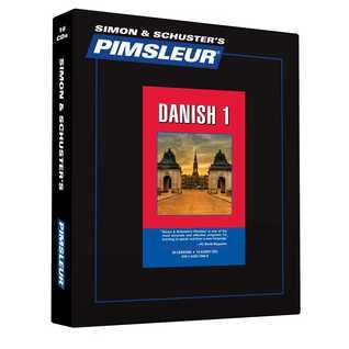 Pimsleur Danish Level 1 CD: Learn to Speak and Understand Danish with Pimsleur Language Programs Pimsleur
