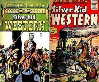 Silver Kid Western. Issues 2 and 5. Action packed tales of the west. Gunslingers, lawmen, outlaws, marshals. Golden Age Digital Comics Wild West Western Golden Age Wild West Comics