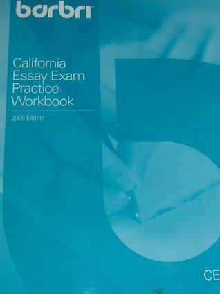 BAR/BRI California Essay Exam Pratice Workbook  by  Esq. Jeff Adachi