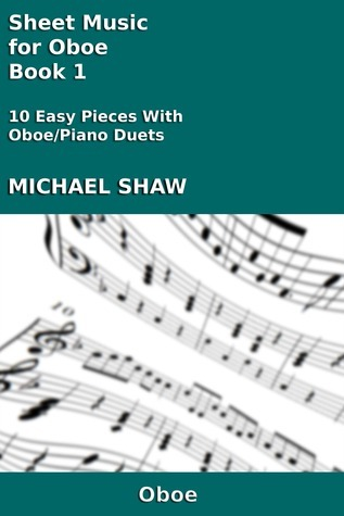 Sheet Music for Oboe: Book 1  by  Michael Shaw