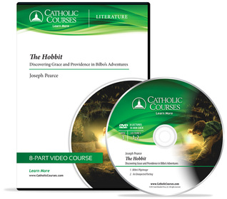The Hobbit (Audio CD): Discovering Grace and Providence in Bilbos Adventures  by  Joseph Pearce
