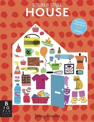 Sticker Style: House  by  Jenny Bowers