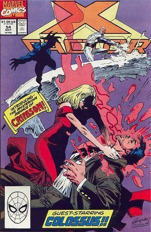 X-Factor #54  by  Louise Simonson