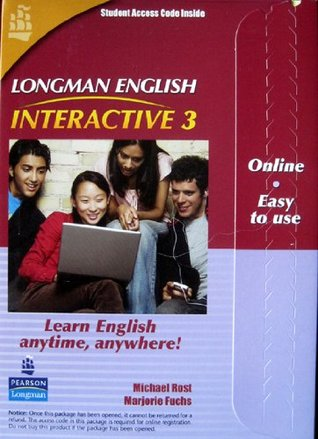 Longman English: Interactive 3, Online Version (Student Access Code Card) American English  by  Michael Rost