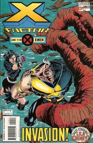 X-Factor #110 Todd Dezago