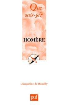 Homère  by  Jacqueline de Romilly