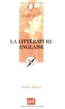 La littérature Anglaise Frédéric Regard