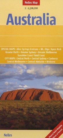 Australia Map Nelles by Nelles Maps