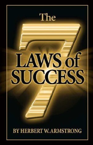 The Seven Laws of Success Herbert Armstrong
