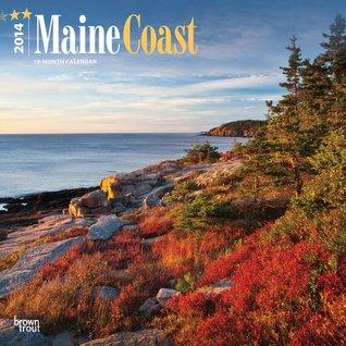 Maine Coast 18-Month 2014 Calendar NOT A BOOK