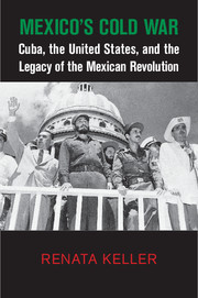 Mexicos Cold War Cuba, the United States, and the Legacy of the Mexican Revolution Renata Keller
