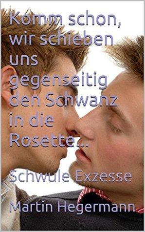 Komm schon, wir schieben uns gegenseitig den Schwanz in die Rosette...: Schwule Exzesse  by  Martin Hegermann
