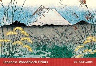 Japanese Woodblock Print Postcard Book Honolulu Museum of Arts