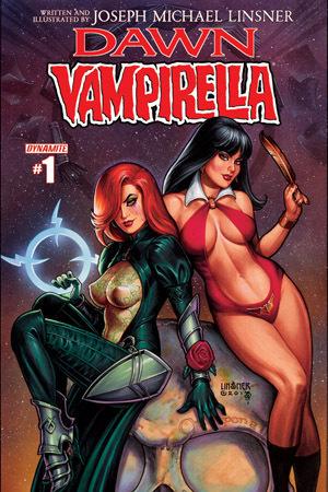 Dawn/Vampirella #1 Joseph Michael Linsner