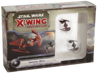 Star Wars X-Wing Miniatures Game Expansion: Imperial Aces Fantasy Flight Games