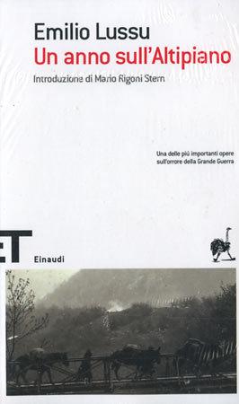 Un anno sullAltopiano Emilio Lussu