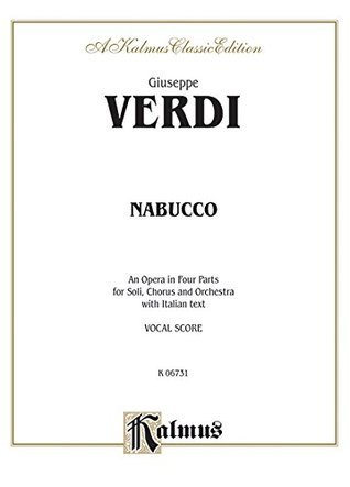 Nabucco: Vocal Score (Italian Language Edition), Vocal Score Giuseppe Verdi