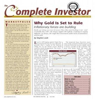 The Complete Investor Stephen Leeb