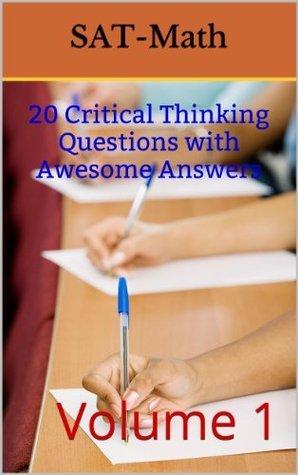 SAT Math (Critical Thinking In SAT Math Book 1)  by  Swarnaraja Visvalingam