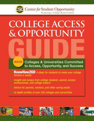 College Access & Opportunity Guide Center for Student Opportunity