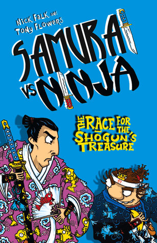 The Race for Shoguns Treasure  by  Nick Falk