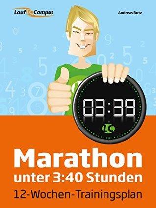 Marathon unter 3:40 Stunden Andreas Butz