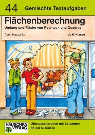 Flächenberechnung Adolf Hauschka