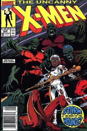 Uncanny X-Men #265 Chris Claremont