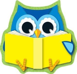 Carson Dellosa Reading Owl Cut-Outs (120134)  by  Carson-Dellosa Publishing