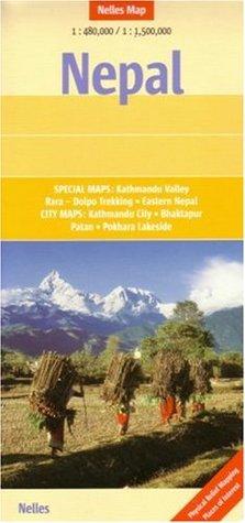 Nepal Nelles Map Nelles Verlag
