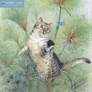 Ivory Cats wall calendar 2015  by  Flame Tree Publishing