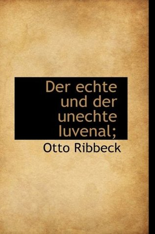 Saturae  by  Otto Ribbeck