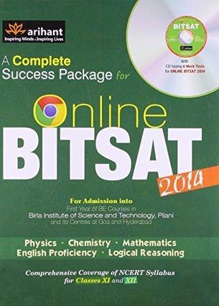 A Complete Success Package for Online BITSAT 2014 Arihant Experts