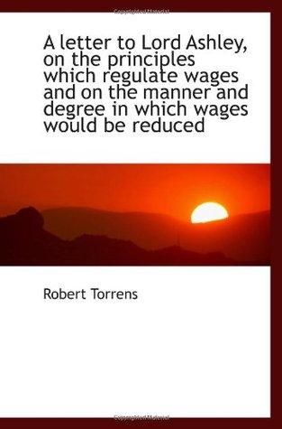 Colonization Of South Australia Robert Torrens