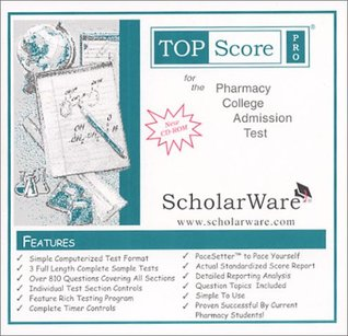 Pharmacy College Admission Test (PCAT) Sample Tests and Guide, TopScore Pro for the PCAT  by  ScholarWare.com