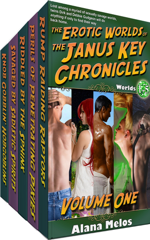 The Erotic Worlds of the Janus Key Chronicles, Volume 1: Worlds 1 - 5 Alana Melos