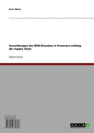 Auswirkungen des RFID-Einsatzes in Prozessen entlang der Supply Chain  by  Karin Weber