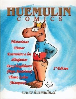 huemulin comics  by  jaime huerta (galo)