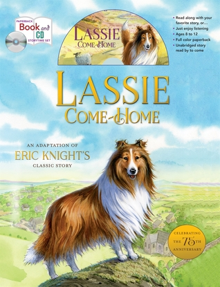 Lassie Come-Home 75th Anniversary Edition storytime set Eric Knight