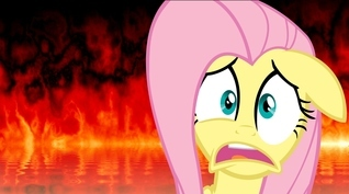 Fluttershys Infernal Adventure  by  butterscotchsundae