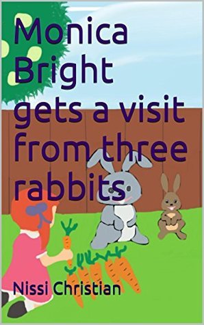 Monica Bright gets a visit from three rabbits (2)  by  Nissi Christian